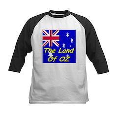 The Land Of Oz Kids Baseball Jersey