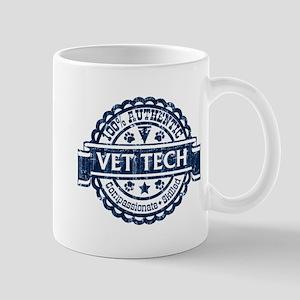 100% Authentic Vet Tech (Blue) Mug
