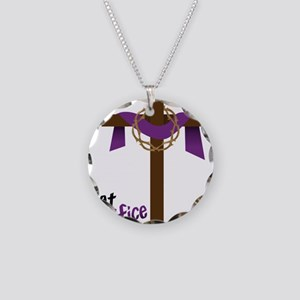 What Sacrifice will you make Necklace Circle Charm