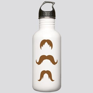 Mustaches Stainless Water Bottle 1.0L
