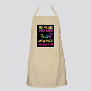 KNOW MUSIC Light Apron