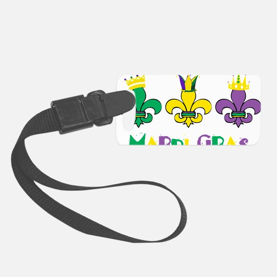 Mardi Gras Royalty Party New Orl Luggage Tag