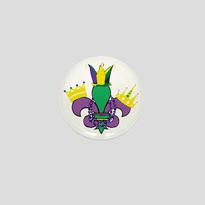 Mardi Gras Party Mini Button