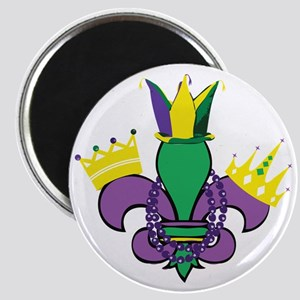 Mardi Gras Party Magnet
