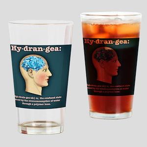 hydrangea-head-TIL Drinking Glass