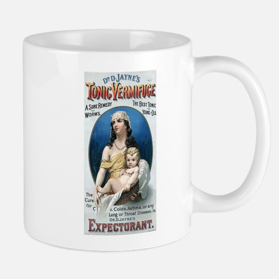 Vermifuge_advertisement_1889 Mugs
