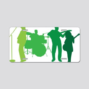 Rock Band Aluminum License Plate