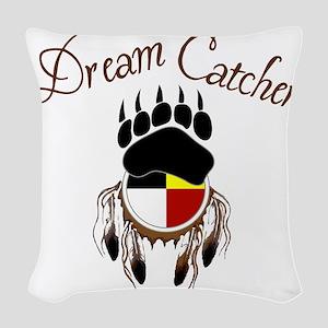 Dream Catcher Woven Throw Pillow