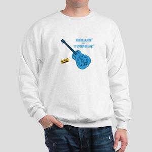Slide Guitar Rollin and Tumbl Sweatshirt