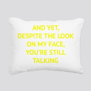 stillTalk1D Rectangular Canvas Pillow