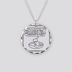 Quietly Wonderful (Good Morn Necklace Circle Charm