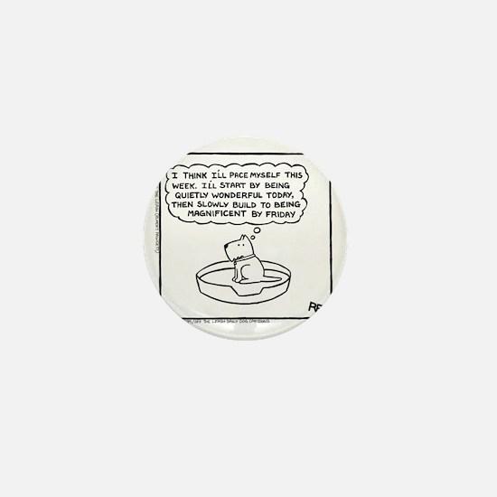 Quietly Wonderful (Good Morning Monday Mini Button