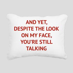 stillTalk1C Rectangular Canvas Pillow