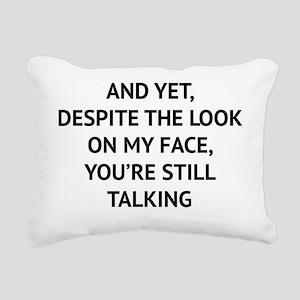stillTalk1A Rectangular Canvas Pillow