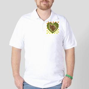 Love Turkey 2012 4x4 Golf Shirt