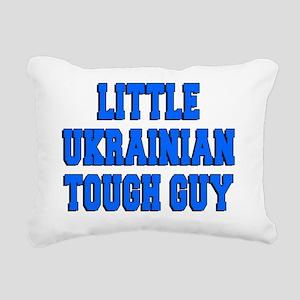 Little Ukrainian Tough G Rectangular Canvas Pillow