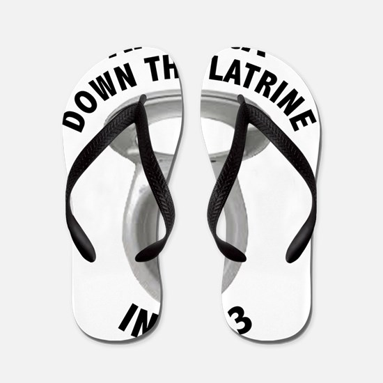America Down The Latrine in 2013 Flip Flops