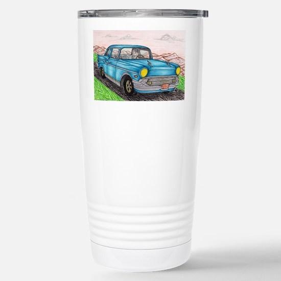 57' Chevy Belair Origin Stainless Steel Travel Mug