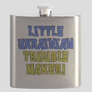 Little Ukrainian Trouble Maker Flask