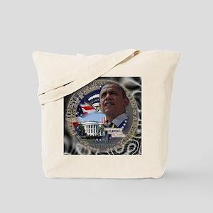 Obama Re-elected Tote Bag