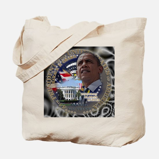 Obama Re-elected Tote Bag