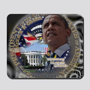 Obama Re-elected Mousepad