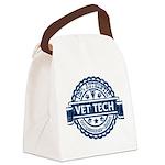 100% Authentic Vet Tech (Blue) Canvas Lunch Bag
