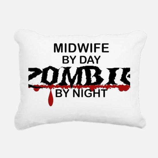 Midwife Zombie Rectangular Canvas Pillow