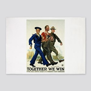 Together We Win - James Montgomery Flagg - Circa 1
