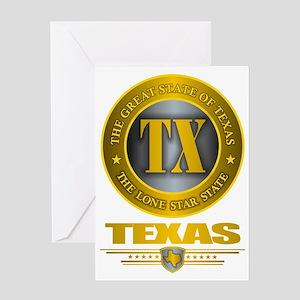Tex Greeting Card