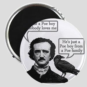 Edgar Allan Poe Riffs On Queen's Bohemian R Magnet