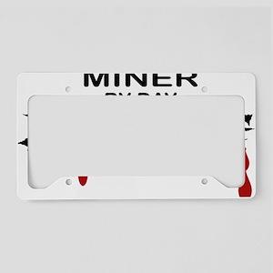 Miner Zombie License Plate Holder