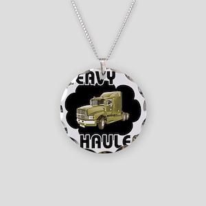 Heavy Hauler Necklace Circle Charm