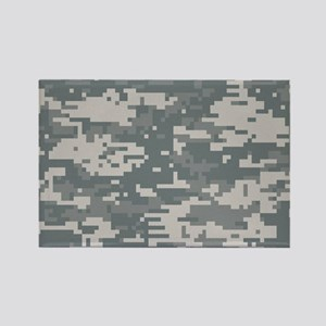 Digital camo laptop skin Rectangle Magnet