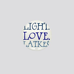 Light. Love. Latkes. Mini Button