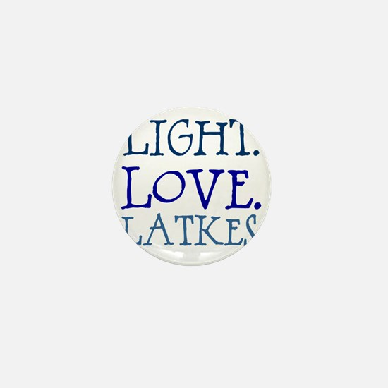 Light. Love. Latkes. Mini Button