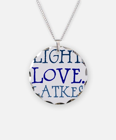 Light. Love. Latkes. Necklace
