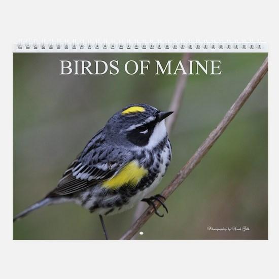 Birds Of Maine Vol IV Wall Calendar By Noah Gibb.