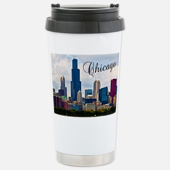 Chicago_4.25x5.5_NoteCa Stainless Steel Travel Mug
