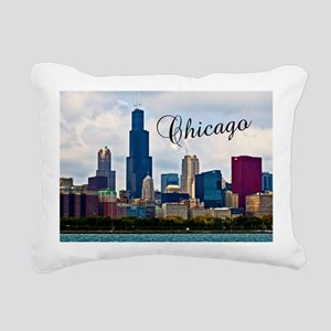 Chicago_4.25x5.5_NoteCar Rectangular Canvas Pillow