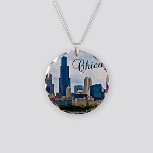 Chicago_4.25x5.5_NoteCards_S Necklace Circle Charm