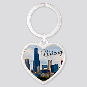 Chicago_4.25x5.5_NoteCards_Skyline Heart Keychain