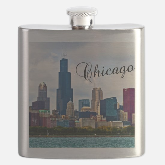 Chicago_4.25x5.5_NoteCards_Skyline Flask