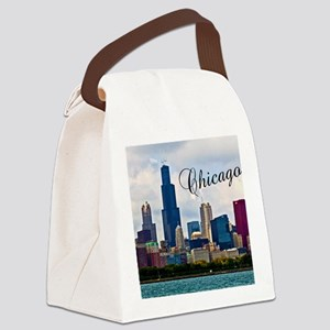 Chicago_4.25x5.5_NoteCards_Skylin Canvas Lunch Bag