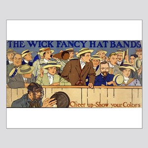 The Wick Fancy Hat Bands Cheer Up Show Your Colors