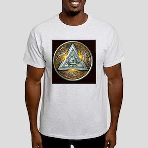 Norse Valknut - Yellow Light T-Shirt
