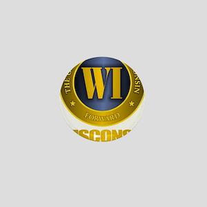 Wisconsin Mini Button