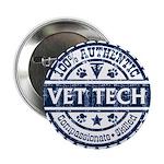 100% Authentic Vet Tech (Blue) 2.25&Amp;Quot; Butt