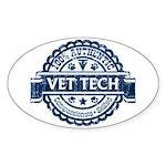 100% Authentic Vet Tech (Blue) Sticker