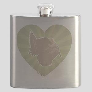 Love Turkey 2012 3.375x3.375 Flask